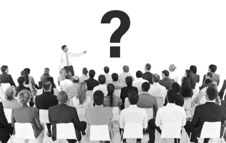 Schulung - offene Fragen - Fragezeichen