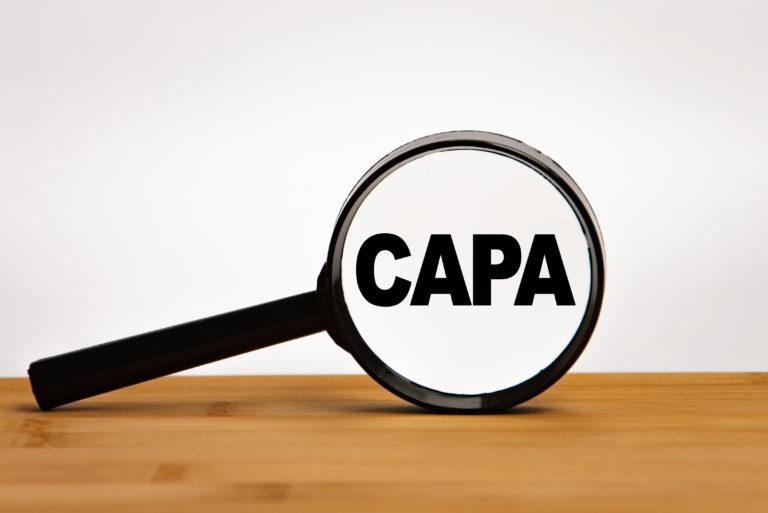 CAPA Medizintechnik Corrective Action Preventice Action FDA Medizinprodukte